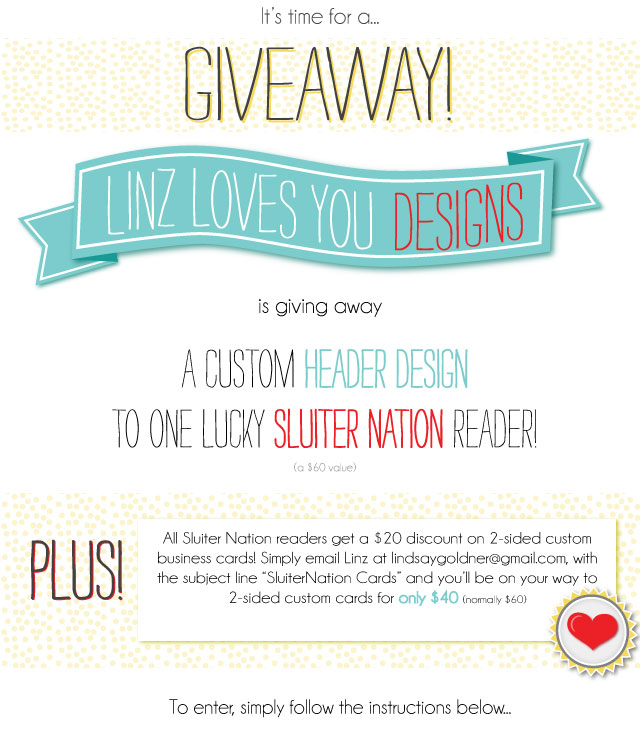 linz loves you giveaway