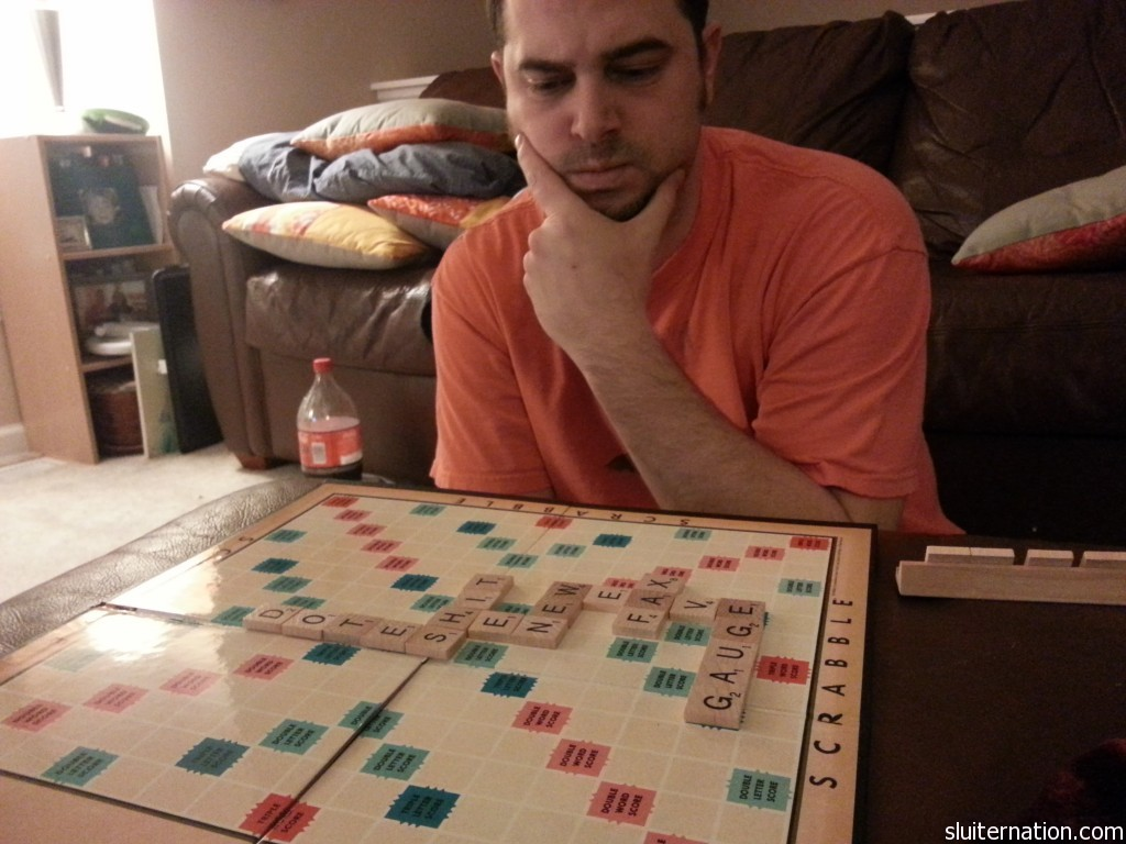 December 31: Soda after 8pm and scrabble. We rung in the new year with all sorts of crazy.