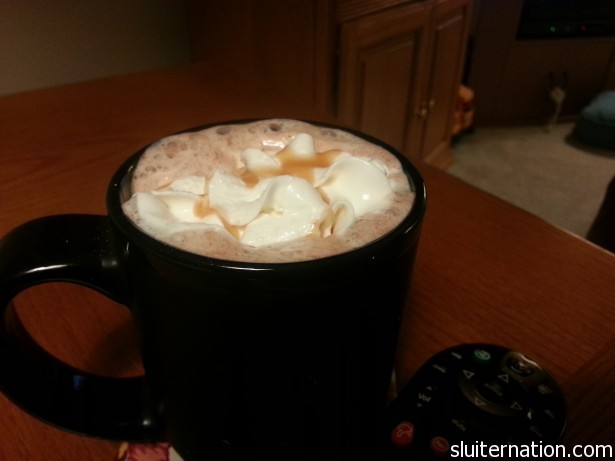 January 16: Found Starbucks Salted Caramel Hot Coco at the grocery store. GET IN MY BELLY!
