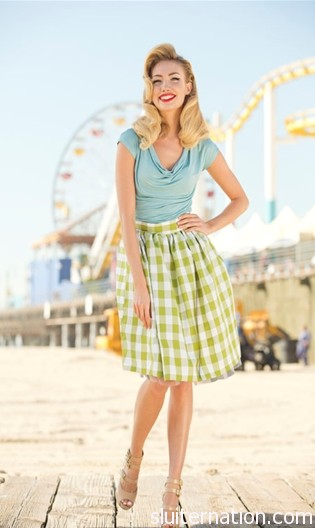 The Picnic Park Skirt