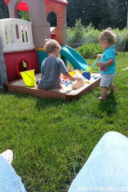 July 1: Starting the new month with a new sandbox!