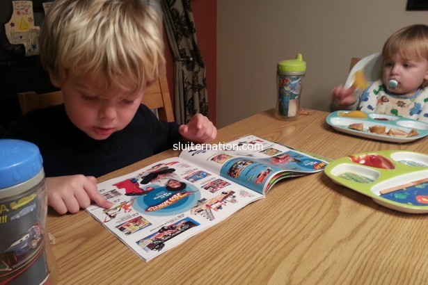 November 3: The Target Toy Catalog came!.