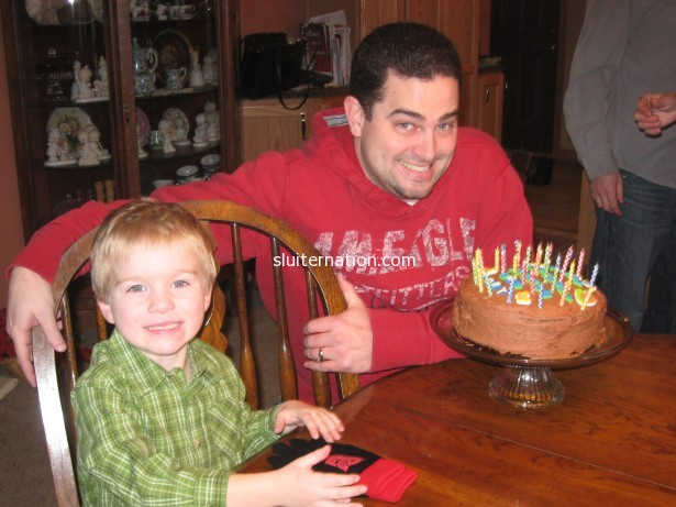 2009: Eddie was 6 months old and you and Jack started your tradition of celebrating your birthdays together.