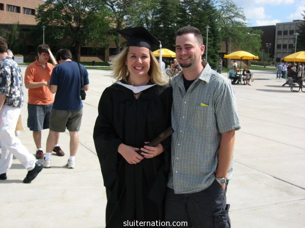 May of 2008: Graduating with my Masters of English with an Emphasis on Teaching