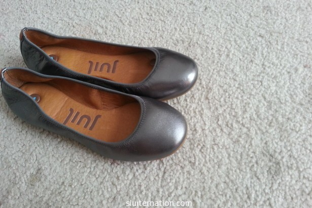 Juil shoes giveaway with Sluiter Nation