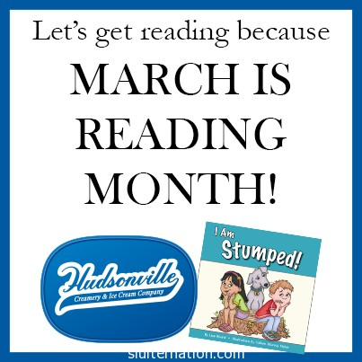 Reading Month with Hudsonville