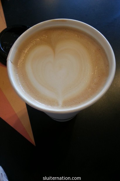 March 8: Coffee with a friend. Best way to end a week.