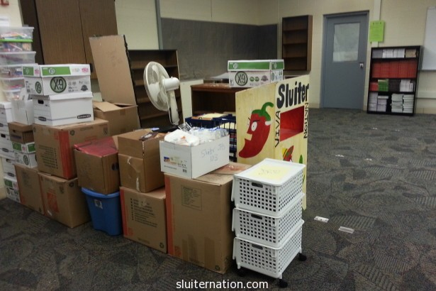June 30: Moving day! On to a new classroom and new adventures!