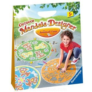 The Animal Fun Outdoor Mandala