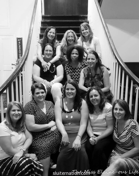 just a few of the women who I call my friends. Photo credit: Elaine of The Miss Elaine-ous Life