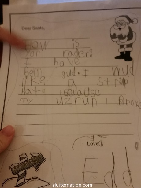 Eddie learned to read and write.