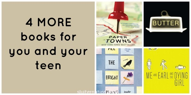 4 YA books that you will enjoy as much {if not more than} your teen!